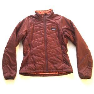 Patagonia Brown Nano Puff Quilted Full Zip Jacket